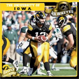 2012 IOWA HAWKEYES 12X12 WALL CALENDAR