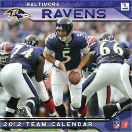 2012 BALTIMORE RAVENS 12X12 WALL CALENDAR