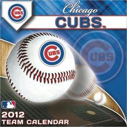 2012 CHICAGO CUBS BOX CALENDAR