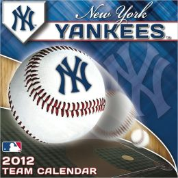 2012 NEW YORK YANKEES BOX CALENDAR