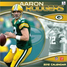 2012 GREEN BAY PACKERS AARON RODGERS 12X12 WALL CALENDAR