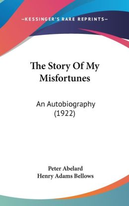 The Story of My Misfortunes: An Autobiography (1922)