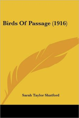 Birds of Passage (1916)