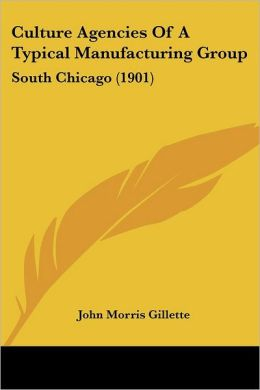 Culture Agencies of a Typical Manufacturing Group: South Chicago (1901)
