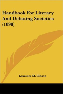 Handbook for Literary and Debating Societies (1898)