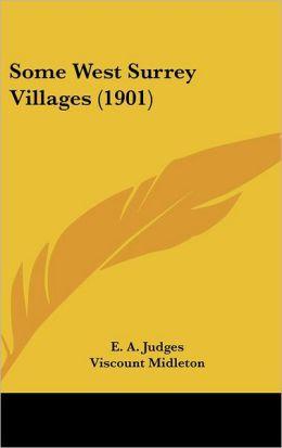 Some West Surrey Villages (1901)
