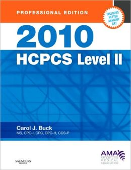 2010 HCPCS Level II (Professional Edition)