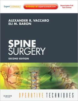 Operative Techniques: Spine Surgery: Expert Consult - Online and Print