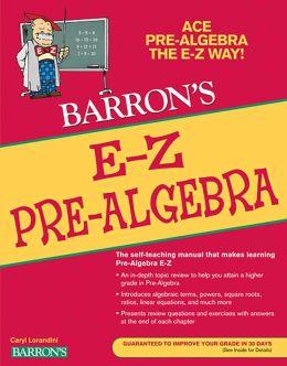 E-Z Pre-Algebra
