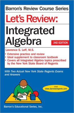 Let's Review Integrated Algebra