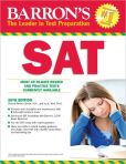 Book Cover Image. Title: Barron's SAT, 26th Edition, Author: Ira K. Wolf Ph.D.
