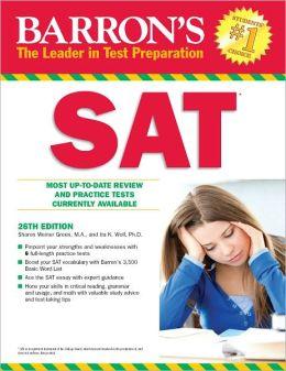Barron's SAT, 26th Edition