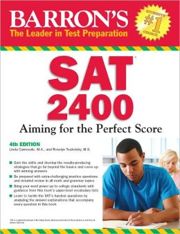 Barron's SAT 2400, 4th Edition