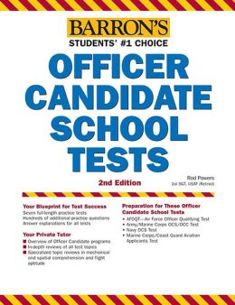 Barron's Officer Candidate School Test, 2nd Edition