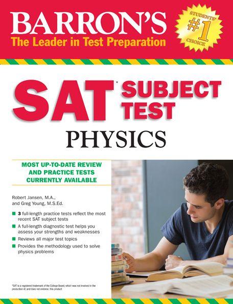 Barron's SAT Subject Test Physics