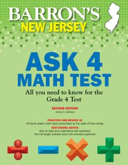 Barron's New Jersey ASK 4 Math Test, 2nd Edition
