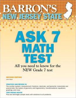New Jersey ASK 7 Math Test, 2nd Edition