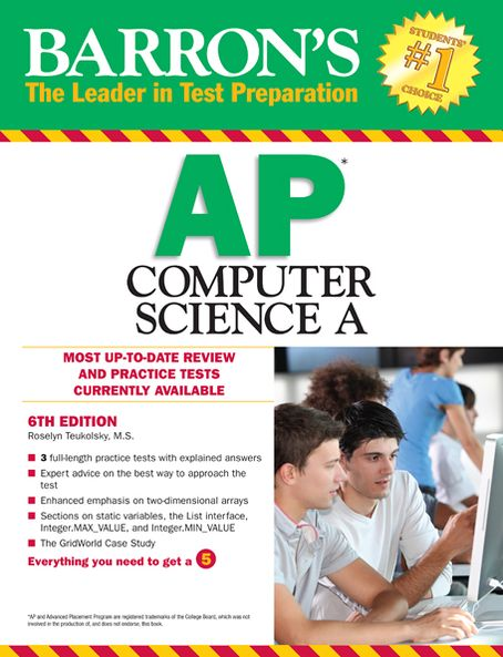 Barron's AP Computer Science A, 6th Edition