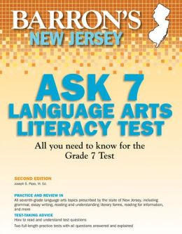 Barron's New Jersey ASK 7 Language Arts Literacy Test, 2nd Edition