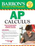 Book Cover Image. Title: Barron's AP Calculus, 12th Edition, Author: David Bock