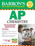 Book Cover Image. Title: Barron's AP Chemistry, 7th Edition, Author: Neil D. Jespersen