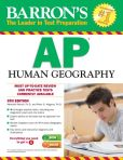 Book Cover Image. Title: Barron's AP Human Geography, 5th Edition, Author: Meredith Marsh Ph.D.