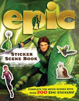 Epic Sticker Scene Book