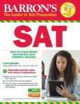 Book Cover Image. Title: Barron's SAT, 27th Edition, Author: Sharon Weiner Green M.A.