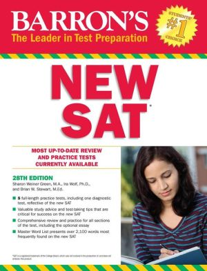 Barron's NEW SAT, 28th Edition