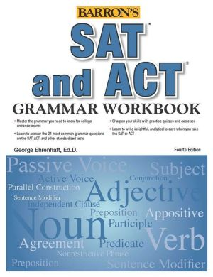 Grammar Workbook for the SAT and ACT