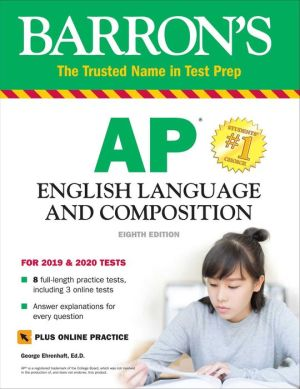 Book Barron's AP English Language and Composition with Online Tests