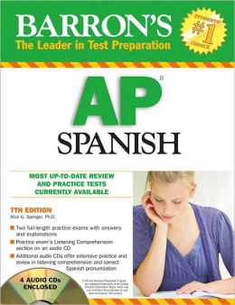 Barron's AP Spanish with Audio CDs