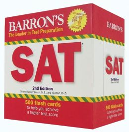Barron's SAT Flash Cards, 2nd Edition