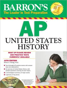 Barron's AP United States History with CD-ROM