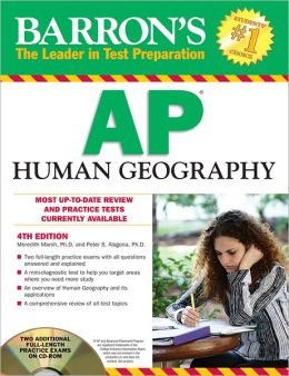 Barron's AP Human Geography with CD-ROM, 4th Edition