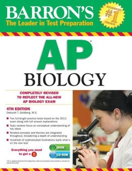 Barron's AP Biology with CD-ROM, 4th Edition