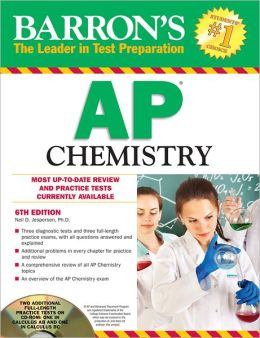 Barron's AP Chemistry with CD-ROM, 6th Edition