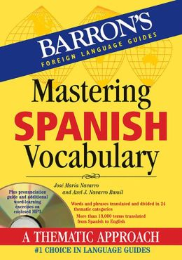 Mastering Spanish Vocabulary with Audio CD