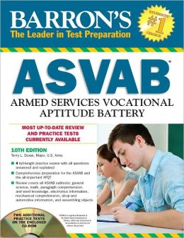 Barron's ASVAB with CD-ROM, 10th Edition