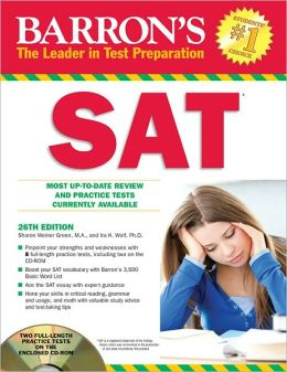 Barron's SAT with CD-ROM, 26th Edition