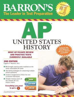 Barron's AP United States History with CD-ROM, 2nd Edition