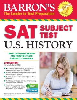 Barron's SAT Subject Test in U.S. History with CD-ROM, 2nd Edition