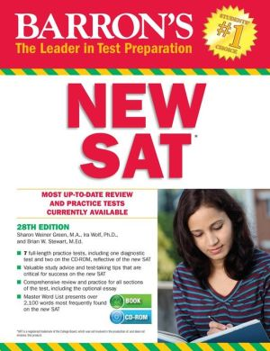 Barron's NEW SAT with CD-ROM, 28th Edition