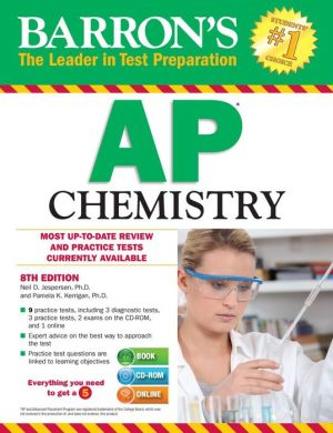 Barron's AP Chemistry with CD-ROM, 8th Edition