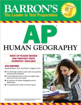 Barron's AP Human Geography, 4th Edition