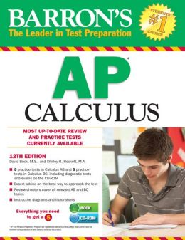 Barron's AP Calculus with CD-ROM, 12th Edition