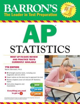 Barron's AP Statistics with CD-ROM, 7th Edition