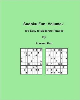 Sudoku Fun: 104 Easy to Moderate Puzzles