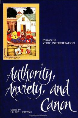 Authority, Anxiety, and Canon