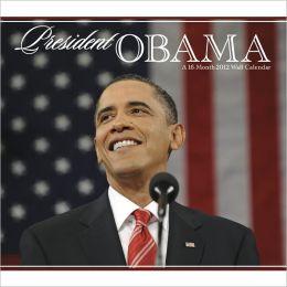 2012 President Obama Wall Calendar